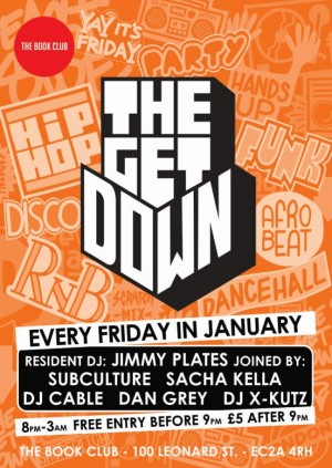 The Get Down with Jimmy Plates & Chris Cable (1 Xtra)