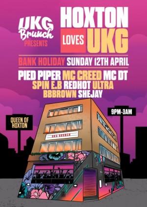 UKG Brunch Presents - 'Hoxton Loves UKG' (Cancelled)