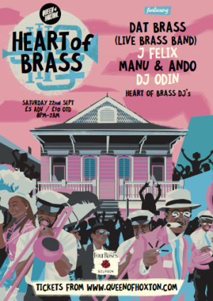 Heart of Brass w/ Dat Brass (Live Brass Band)