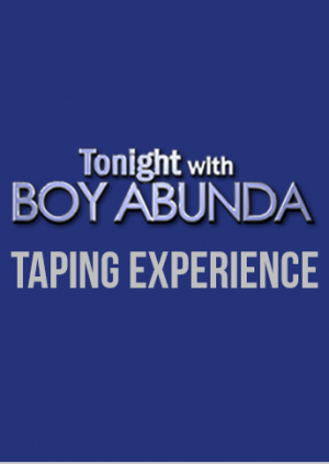Tonight with Boy Abunda Taping Experience