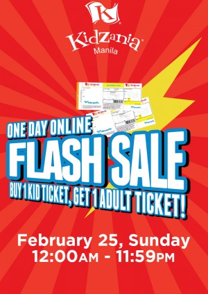 KidZania Manila Flash Sale Weekend Ticket