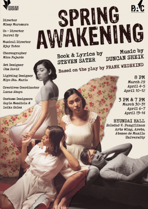 Spring Awakening April 10, 2019 Wed