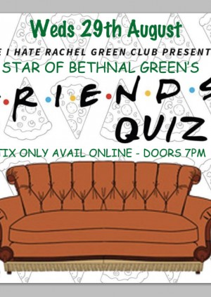 FRIENDS quiz at The Star!