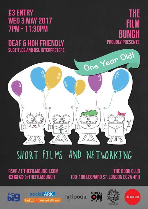The Film Bunch: One Year Anniversary!