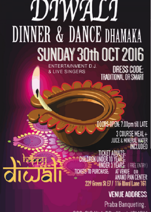 Asian dinner and dance venues