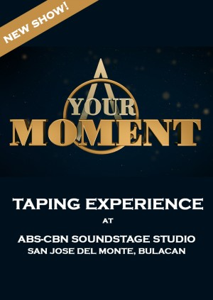 Your Moment Taping Experience