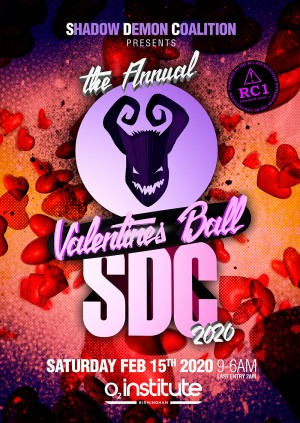 SHADOW  DEMON COALITION presents THE ANNUAL VALENTINES BALL 2020