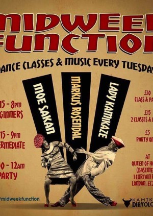 Midweek Function - Opening party