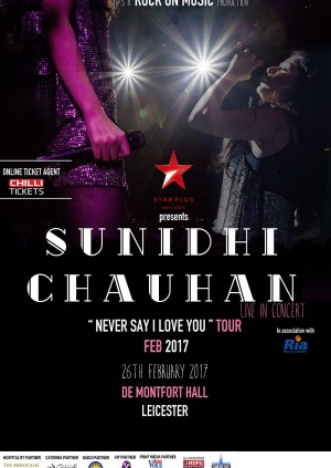 Sunidhi Chauhan - Leicester