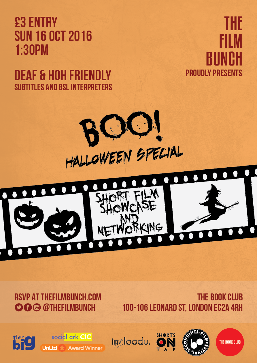 The Film Bunch Short Films & Networking: Halloween Special