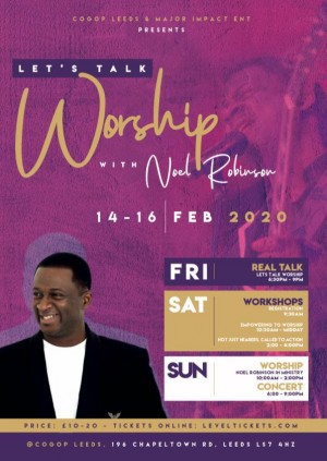 Worship with Noel Robinson