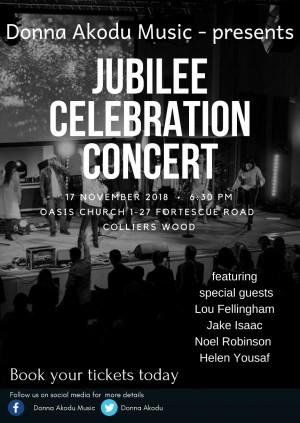 Jubilee Celebration Concert