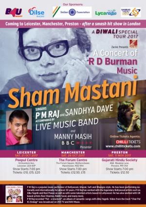 Sham Mastani: Diwali Special - Manchester