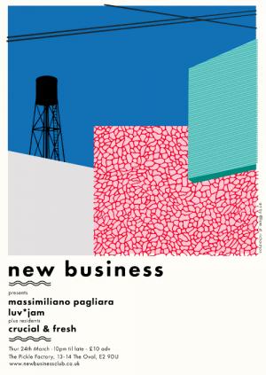New Business: Massimiliano Pagliara, Luv*Jam, Crucial & Fresh