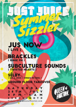 The Just Juice Summer Sizzler w/ Jus Now