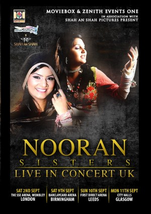 Nooran Sisters - Glasgow