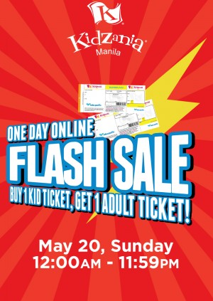 Ticket KidZania Manila Flash Sale Weekend Ticket