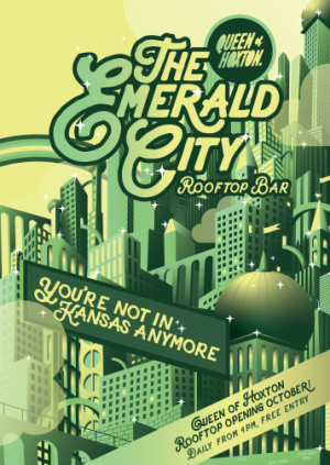 Emerald City Winter Rooftop Launch
