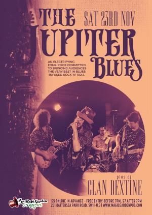 The Jupiter Blues + DJ Clan Dextine