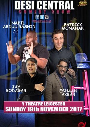 Desi Central Comedy Show - Leicester