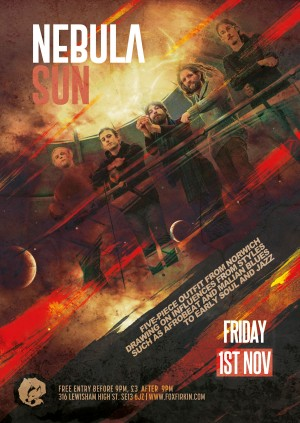 The Fox & Firkin Presents: Nebula Sun