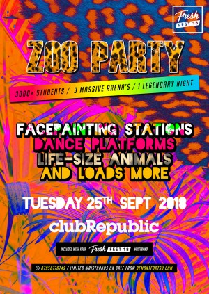 Freshers Zoo Party