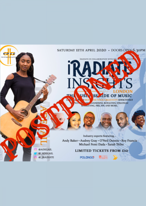 [NEW DATE] iRadiate Insights: The Business Side of Music