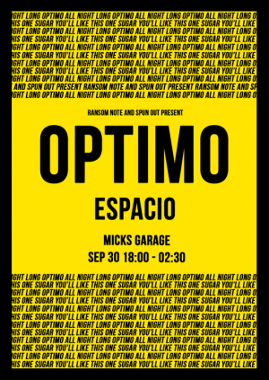 Optimo ~ From Start To FInish