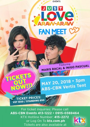 Just Love Araw-Araw Fan Meet with Maris and Inigo