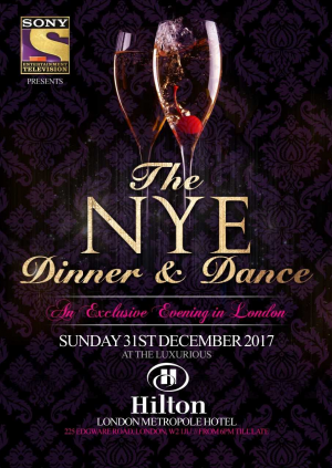 New Years Eve Dinner & Dance - Hilton London