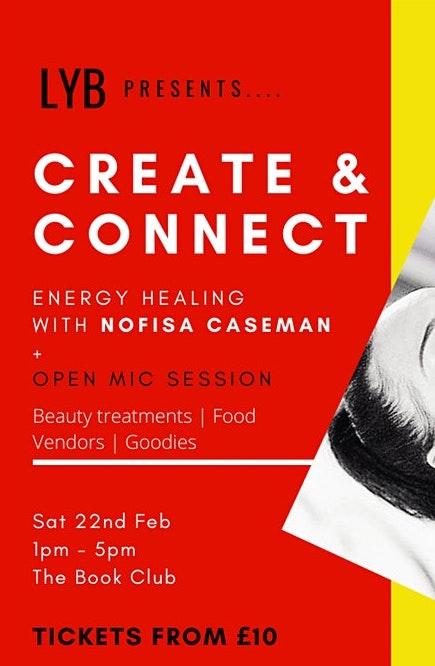 Create & Connect: Energy Healing with Nofisa Caseman