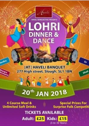 Lohri Dinner & Dance