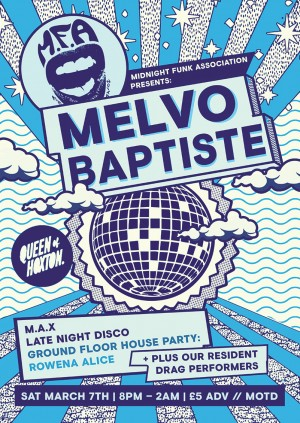 Midnight Funk Association w/ Melvo Baptiste