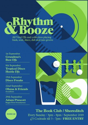 Rhythm & Booze w/ Disco Freaks  - All Vinyl Sundays - Free Entry