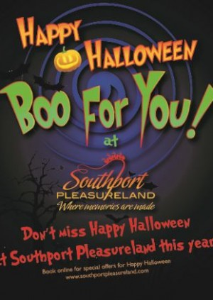 Boo For You Halloween Spectacular 20 & 21 October and  25-28 October