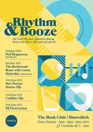 Rhythm & Booze w/ DJ Destruction  - All Vinyl Sunday Sessions!