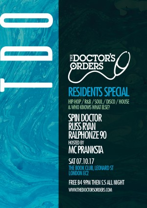 The Doctor's Orders – Residents Special