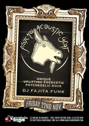Psycho Acoustic Goat + DJ Fajita Funk