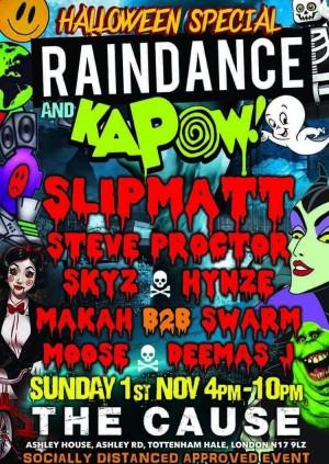 Raindance & Kapow Halloween in The Theatre & Terrace