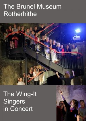 Wing-Its in Concert - Brunel Museum