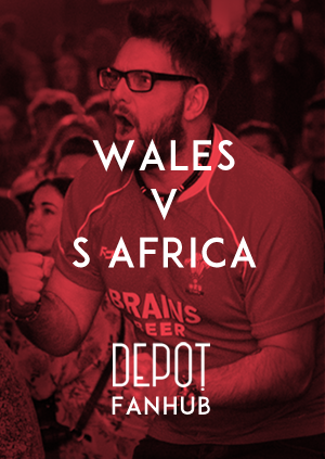 DEPOT FANHUB Presents: Autumn Internationals - Wales Vs South Africa