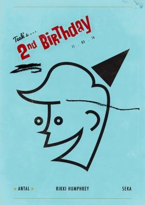 TEAK 2nd Birthday w/ Antal, Rikki Humphrey & Seka