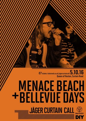 Jagermeister Curtain Call w/ Menace Beach