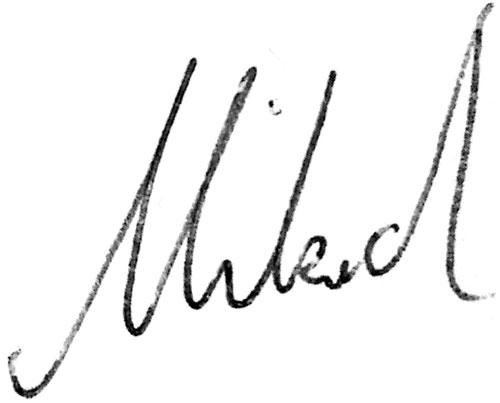 Mikael Toivio Signature