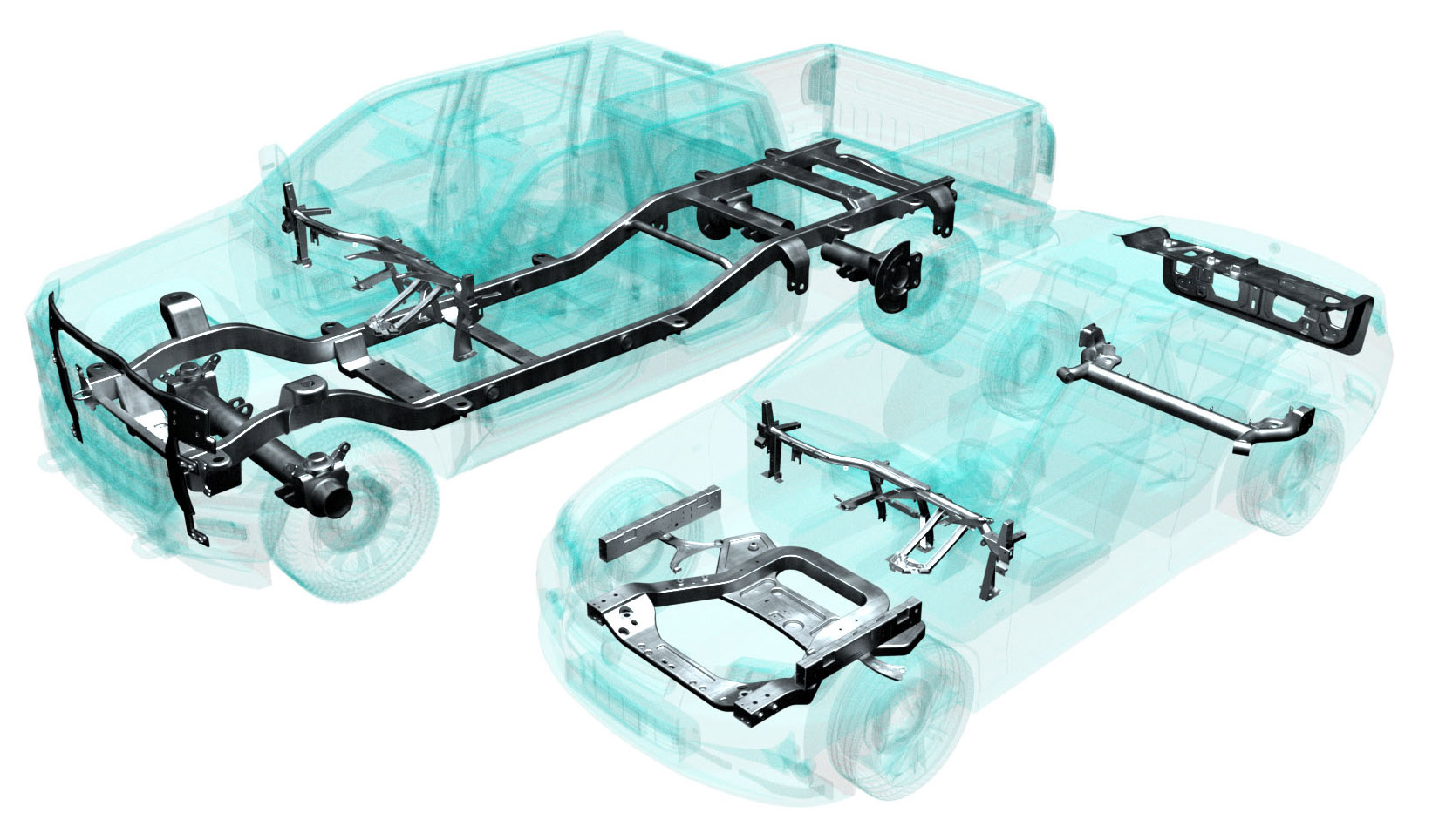 Mapvision solutions car body chassis
