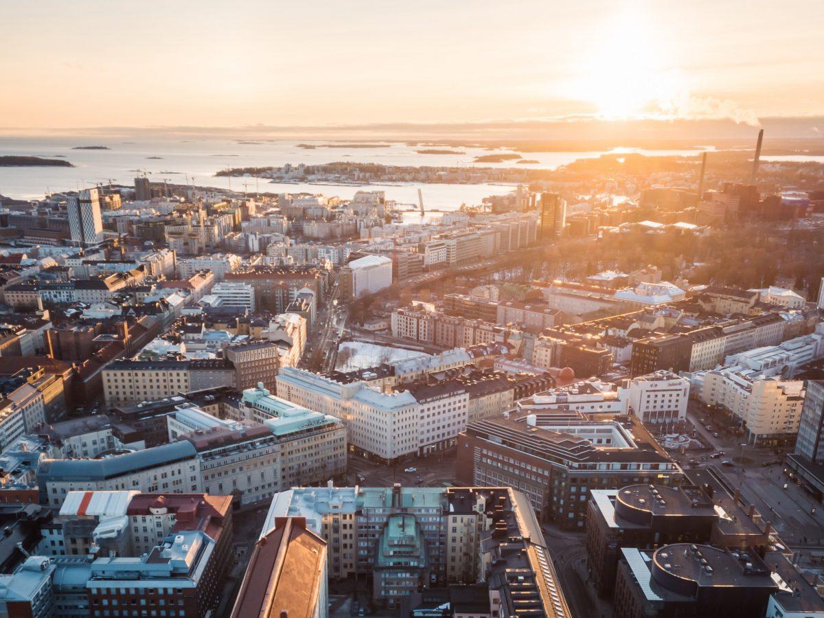 Ilmakuva Helsingistä