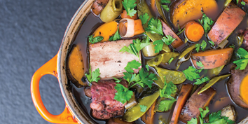 Nutritious and warming, this stew is a great use of Ossa's organic bone broth to soothe and heal.