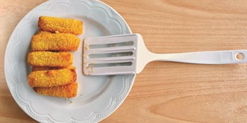 Crispy homemade fish fingers with quick DIY breadcrumbs and fresh wild fish. Great for kids to cook!