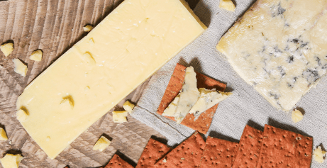 Choose from a selection of organic cheese and organic grass fed butter for home delivery.