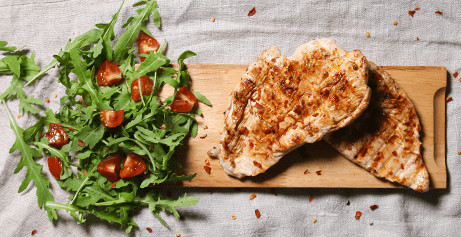 Succulent organic chicken raised free range outdoors on organic pasture, delivered to your home.
